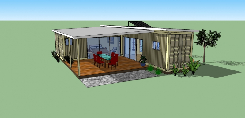 The Desert Sand   Container Cabins