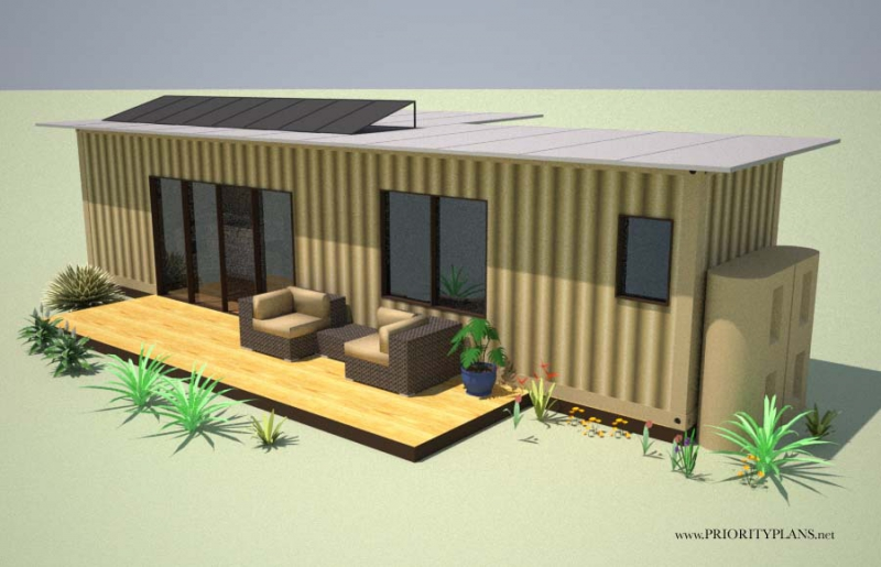 Eco cabin 2 0 container cabins for Self contained cabin