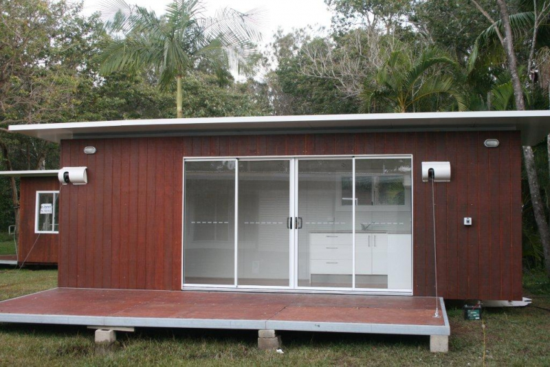 Self contained container cabins for Self contained cabin