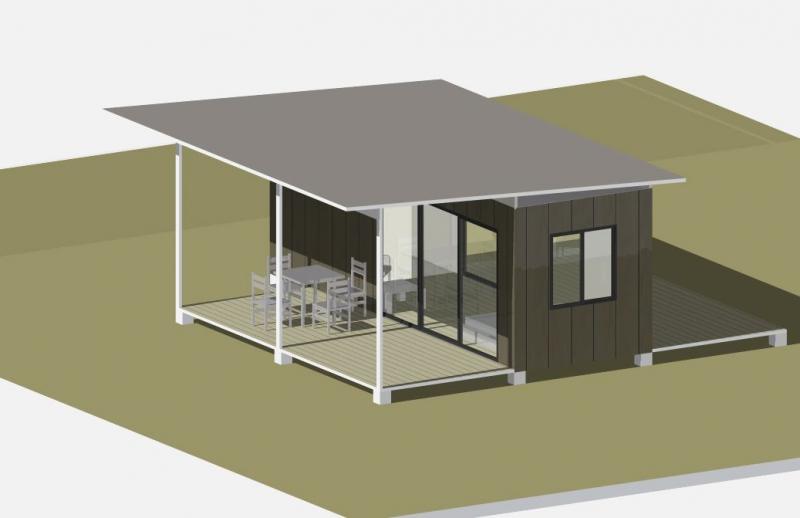 stingray cabin 20ft container cabins. Black Bedroom Furniture Sets. Home Design Ideas